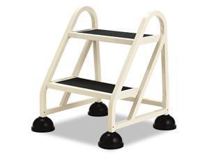 "Cramer Two-Step Stop-Step Aluminum Ladder 23"" High Beige 102019"