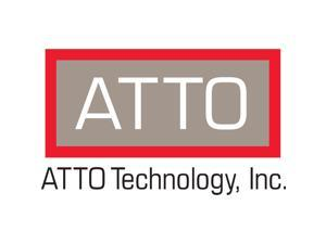 ATTO FFRM-N352-DA0 10/25/40/50GbE PCIe 3.0 FastFrame N352 QSFP28 Optical Interface, Dual Port 10/25/40/50GbE PCIe 3.0 Network Adapter