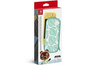 Nintendo 045496882686 Switch Lite Animal Crossing: New Horizons Aloha Edition Carrying Case + Screen Protector