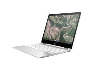 "HP Chromebook x360 12b-ca0010nr 12"" HD+ Touchscreen 2-In-1 Notebook Computer, Intel Celeron N4000 1.1GHz, 4GB RAM, 32GB eMMC, Chrome OS, Ceramic White"