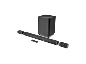 JBL BAR51BLKAM Bar 5.1 4K Ultra HD Soundbar with True Wireless Speaker