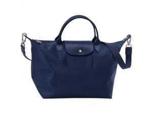 bc1a7fb8be99 Longchamp Le Pliage Neo Medium Handbag Navy 1515578556