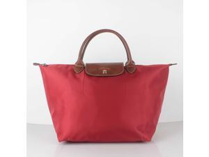 90b8cdb3906e Longchamp Le Pliage Medium Nylon Short Handle Tote ...