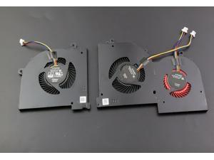 New a pair 4 pin GPU CPU Cooling Fan for MSI GS65 Stealth GS65VR P65 ,GS65 Stealth 8SE  ,GS65 Stealth Thin 8RF, GS65 Stealth 8SF,GS65 Stealth Thin 8RE  MS-16Q2 16Q1 16Q3 16Q2-GPU-CW 16Q2-CPU-CW
