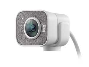 Logitech StreamCam 1080P HD at 60fps FULL HD VERTICAL VIDEO camera  Built-in Microphone (In Hand) with USB-C for live streaming and content creation, SMART AUTO-FOCUS AND EXPOSURE