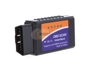 Wi-Fi ELM 327 OBD 2 II Car Diagnostic Interface Scanner for 1996 to 2010 Cars & Light tTrucks