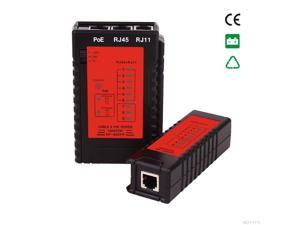 Cable continuity testers POE Tester Check the RJ11& RJ45 Cable quickly Detect automatically tests for continuity NF-468PF