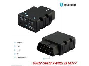 KW902 ELM327 V1.5 OBD Mini Bluetooth 3.0 Car  Code Reader auto Fault Scanner Diagnostic Tool