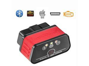 KW903 ELM327 OBD2 OBD-II V1.5 Car Diagnostic Scanner Engine Code Reader Bluetooth4.0 For IOS