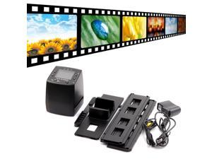 5MP 35mm Negative Film Slide VIEWER Scanner USB Color Photo Copier built-in 2.4-inch LCD screen