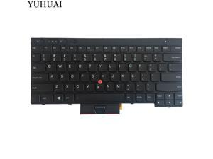 New laptop replacement keyboard for Lenovo ThinkPad T530 T530i series US layout Black color