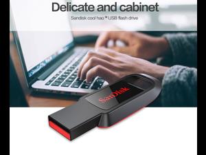 wholesale 2*SanDisk Cruzer CZ61 Z61 USB Flash Drive 128G USB Mini Memory Stick 128GB High Speed Flash Pen Drives USB 2.0 For PC MAC Computer