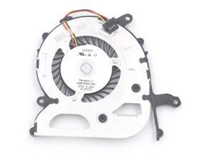 Oumij CPU Cooling Fan ABS Metal Cooler Fan for PS4-1100 Game Console Replacement Part