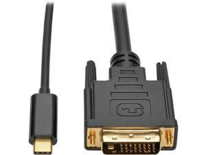 USB3.1 Type-C USB-C to DVI M/M Adapter 6FT  1.8M Cable For Smartphone, Projector, Ultrabook, Monitor, Notebook, Tablet