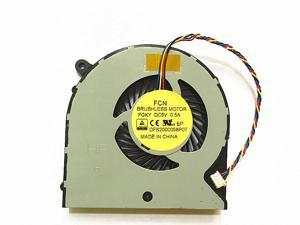 New 4 wire  Notebook CPU Cooling Fan For Gigabyte P35 P35X P35W P35XV4 P37 Laptop Cpu Cooler Fan DFS2000058P0T