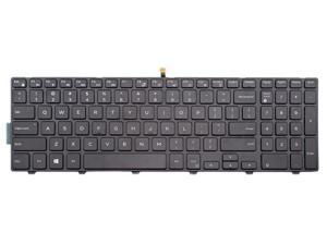 Laptop backlit keyboard for Dell Inspiron 15 3000 Series 15 3551 15 3558 US layout Black color
