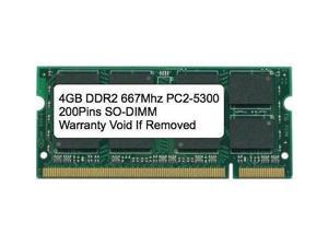 2GB 2x1GB DDR2 667Mhz PC2-5300 SODIMM Memory for Dell Latitude D610 D620 D630