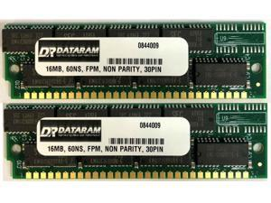 16MB 30pin SIMM RAM MEMORY 60ns Fast Page FP FPM non-Parirty 16x8 30p