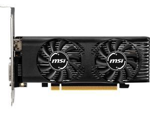MSI GeForce GTX 1650 DirectX 12 GTX 1650 4GT LP OC 4GB 128-Bit GDDR5 PCI Express 3.0 x16 HDCP Ready Video Card