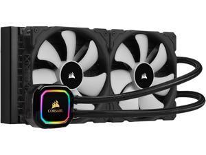 CORSAIR iCUE H115i RGB PRO XT, 280mm Radiator, Dual 140mm PWM Fans, Software Control, Liquid CPU Cooler, CW-9060044-WW