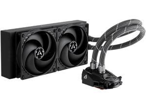 ARCTIC Liquid Freezer II 240 - Multi Compatible All-in-One CPU AIO Water Cooler, Compatible with Intel & AMD, Efficient PWM Controlled Pump, Fan Speed: 200-1800 RPM (Controlled via PWM) - Black