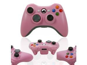 Pink Wireless Game Remote Controller for Microsoft Xbox360 Console