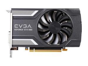 EVGA GeForce GTX 1060 SC GAMING, ACX 2.0 (Single Fan) 6GB, 06G-P4-6163-KR, GDDR5, DX12 OSD Support (PXOC), Only 6.8 Inches Video Graphics Card