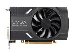 EVGA GeForce GTX 1060 GAMING 6GB, ACX 2.0 (Single Fan), 06G-P4-6161-KR, GDDR5, DX12 OSD Support (PXOC), Only 6.8 Inches Video Graphics Card