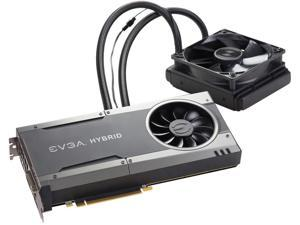 EVGA GeForce GTX 1080 FTW HYBRID GAMING 8GB, 08G-P4-6288-KR, GDDR5X, RGB LED, All-In-One Watercooling with 10CM FAN, 10 Power Phases, Double BIOS, DX12 OSD Support (PXOC) Video Graphics Card