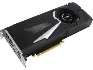 MSI Gaming GeForce GTX 1070 Ti 8GB GDRR5 256-bit HDCP Support DirectX 12 SLI Single Fan VR Ready Graphics Card (GTX 1070 TI AERO 8G)