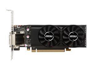 MSI GeForce GTX 1050 Ti DirectX 12 GTX 1050 TI 4GT LP 4GB 128-Bit GDDR5 PCI Express 3.0 x16 HDCP Ready Low Profile Video Card