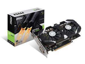 MSI GeForce GTX 1050 Ti DirectX 12 GTX 1050 Ti 4GT OC 4GB 128-Bit GDDR5 PCI Express 3.0 x16 HDCP Ready ATX Video Card