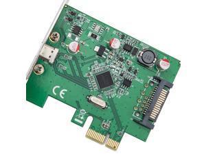 SYBA 1 Port USB 3.1 Type-C PCI-E 3.0 x1 Model SD-PEX20186
