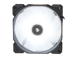 Corsair AF Series AF120 LED (2018) CO-9050079-WW 120mm White LED Case Fan, Single Pack.