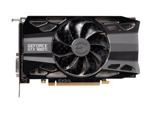 EVGA GeForce GTX 1660 Ti XC Black Gaming, 6GB GDDR6, HDB Fan Graphics Card 06G-P4-1261-KR