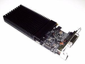 2GB Low Profile PCIe x16 Small Form Factor SFF Video Graphics Card Single Slot