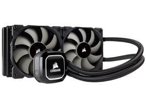 Corsair Hydro Series H100x Extreme Performance Liquid / Water CPU Cooler. 240mm (CW-9060040-WW)