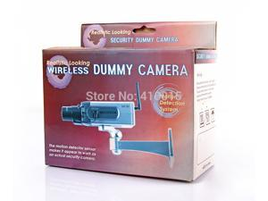 Fake Camera Dummy LED Surveillance Security Bullet Camera