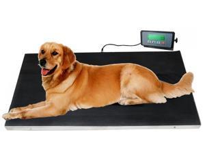 660 lbs VET Veterinary Platform Scale for Animal Pet Dog Cat Livestock w/FREE MAT