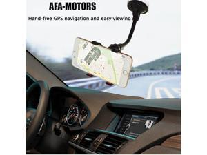 AFA-Motors Car Phone Mount,  3-in-1 Universal Phone Holder Cell Phone Car Air Vent Holder Dashboard Mount Windshield Mount for iPhone 7 Plus,8 Plus,X,7,6S,6,Samsung Galaxy Note S6 S7 and More