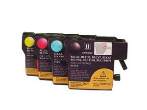 Brother LC61 Compatible Ink Cartridge 4-Color Combo Set