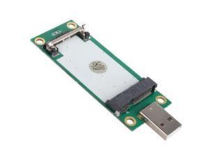 Generic Mini PCI-E Wireless WWAN To Sourcingbay® USB Adapter Card With SIM Card Slot Module Testing
