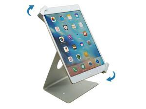 """Universal iPad Pro Tablet Desktop Anti-Theft POS Stand Holder Enclosure with Lock & Key for Retail Kiosk, Compatible with iPad, iPad Air, 9.7""""-12.9"""" Tablet"""