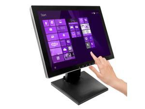 """15"""" Pro Series Capacitive LED Backlit Multi-Touch HDMI Monitor, 4:3 Display 1024 x 768, True Flat Seamless Design Touchscreen, Great for office, POS, Retail, Restaurant, Bar, Gym, Warehouse (15 Inch)"""