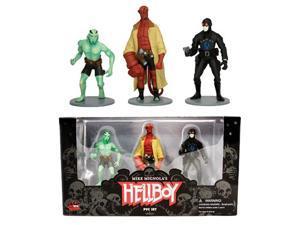 "Dark Horse Comics Hellboy 4"" PVC Action 3 Figure Set"