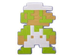 Fire Luigi 8-Bit Super Mario Bros. World of Nintendo Series 1-1 Plush