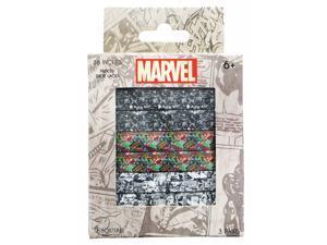 Marvel Printed Shoelaces, 3 Pairs