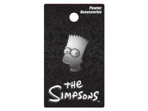 Simpsons The Bart Pewter Lapel Pin Action Figure Monogram International 27824