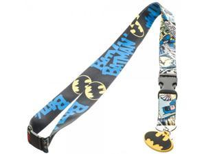 Lanyard - Batman - Comic/Logo New Toys Licensed la3mnibtm