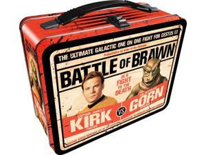 Lunch Box - Star Trek - Kirk vs Gorn Gen Metal Tin Case New 48223